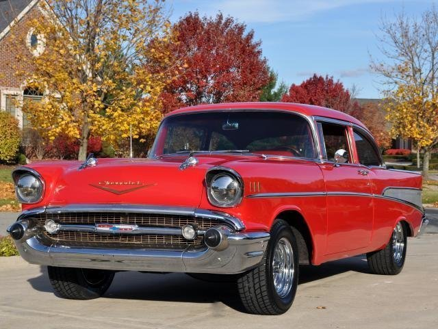 1957 chevrolet bel air watch video