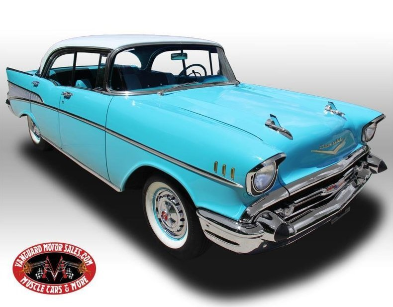 1957 chevrolet bel air 4 dr htp