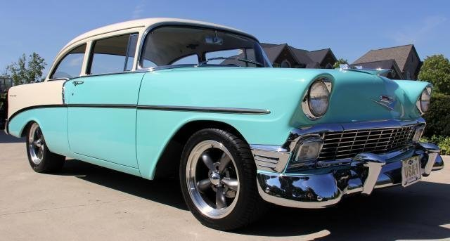 1956 chevrolet 210 watch video