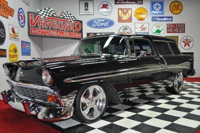 1956 chevrolet nomad hot rod
