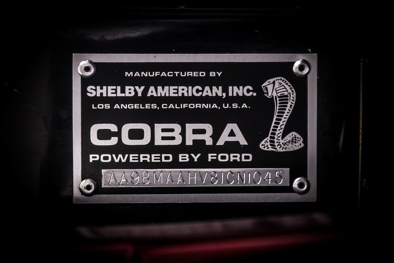 1965 Shelby Cobra 54