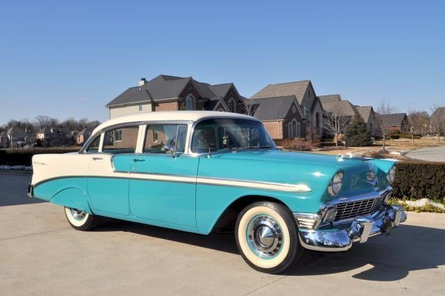 1956 chevrolet bel air clean