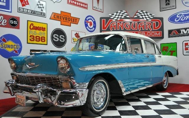 1956 chevrolet bel air watch video