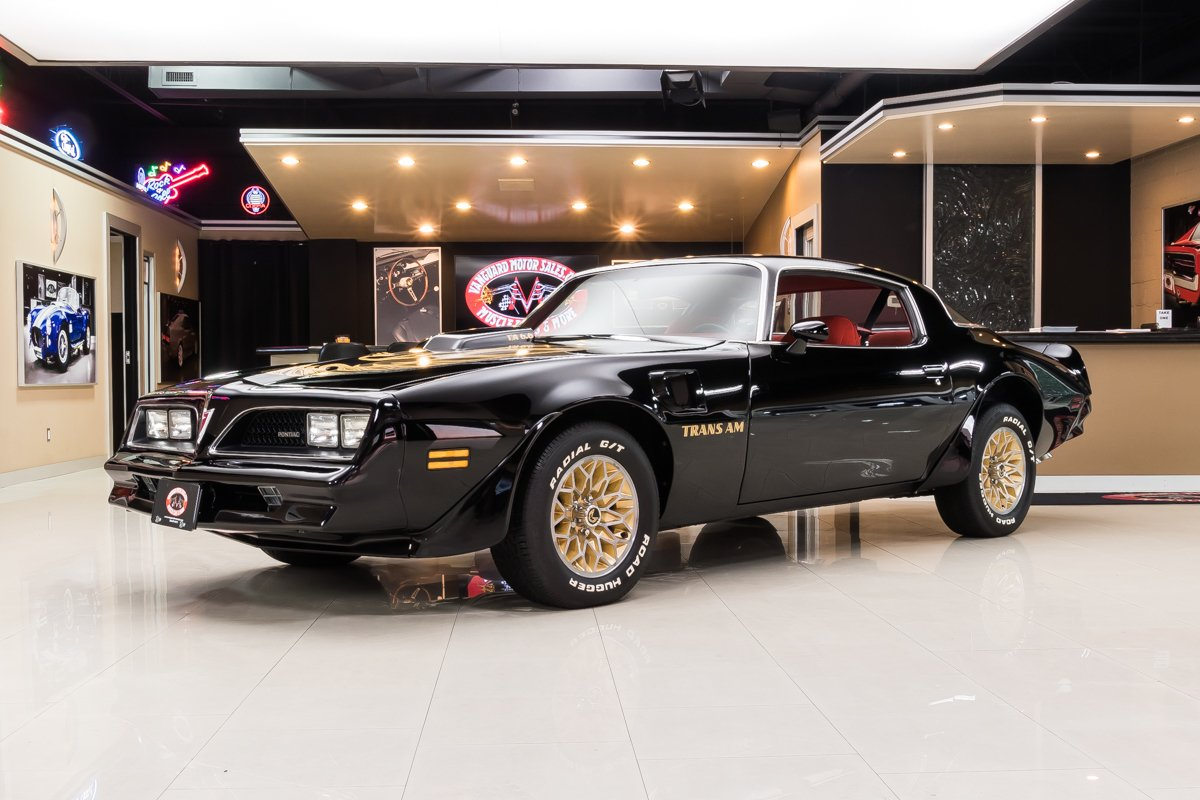 1978 Pontiac Firebird Classic Cars For Sale Michigan Muscle Old Cars Vanguard Motor Sales