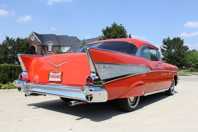 1957 chevrolet bel air 2 dr hard top