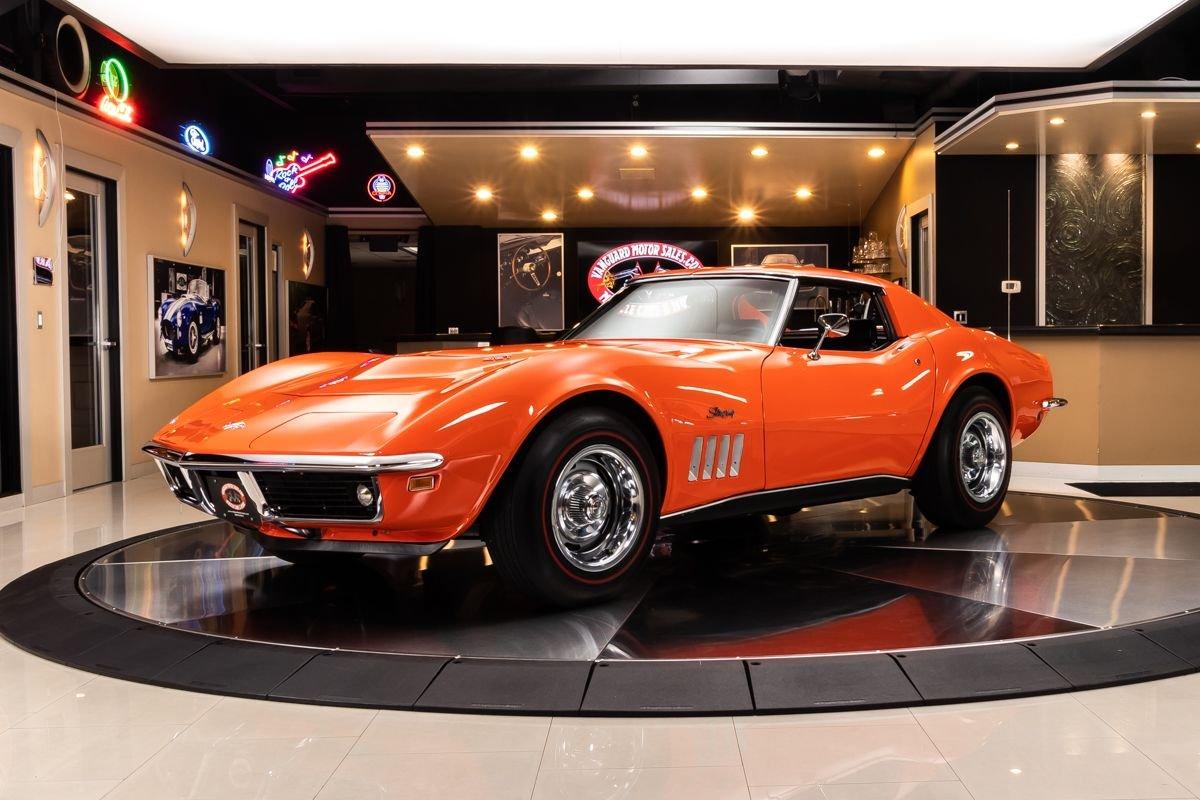 1969 chevrolet corvette 427 390