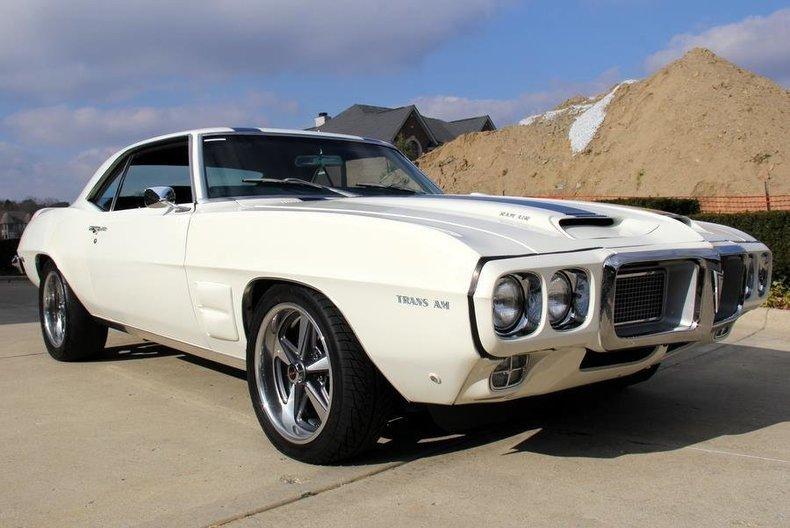1969 pontiac firebird pro touring