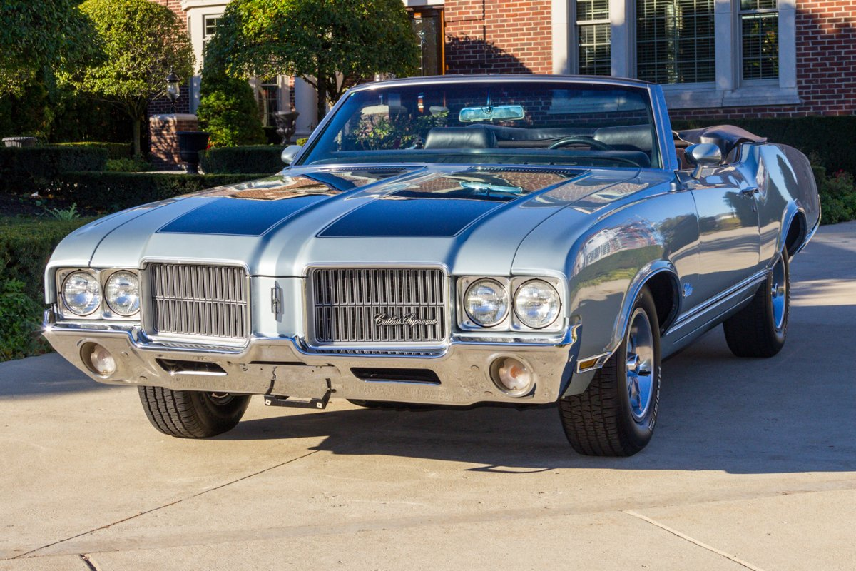 1971 oldsmobile cutlass s convertible