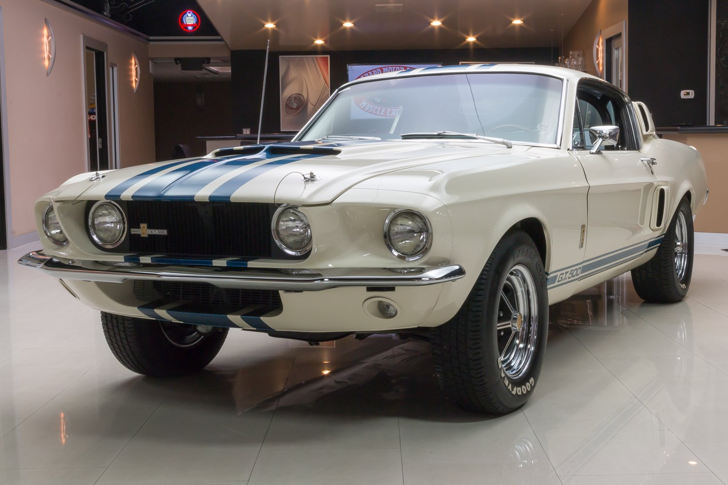 1967 ford mustang fastback gt500 super snake recreation