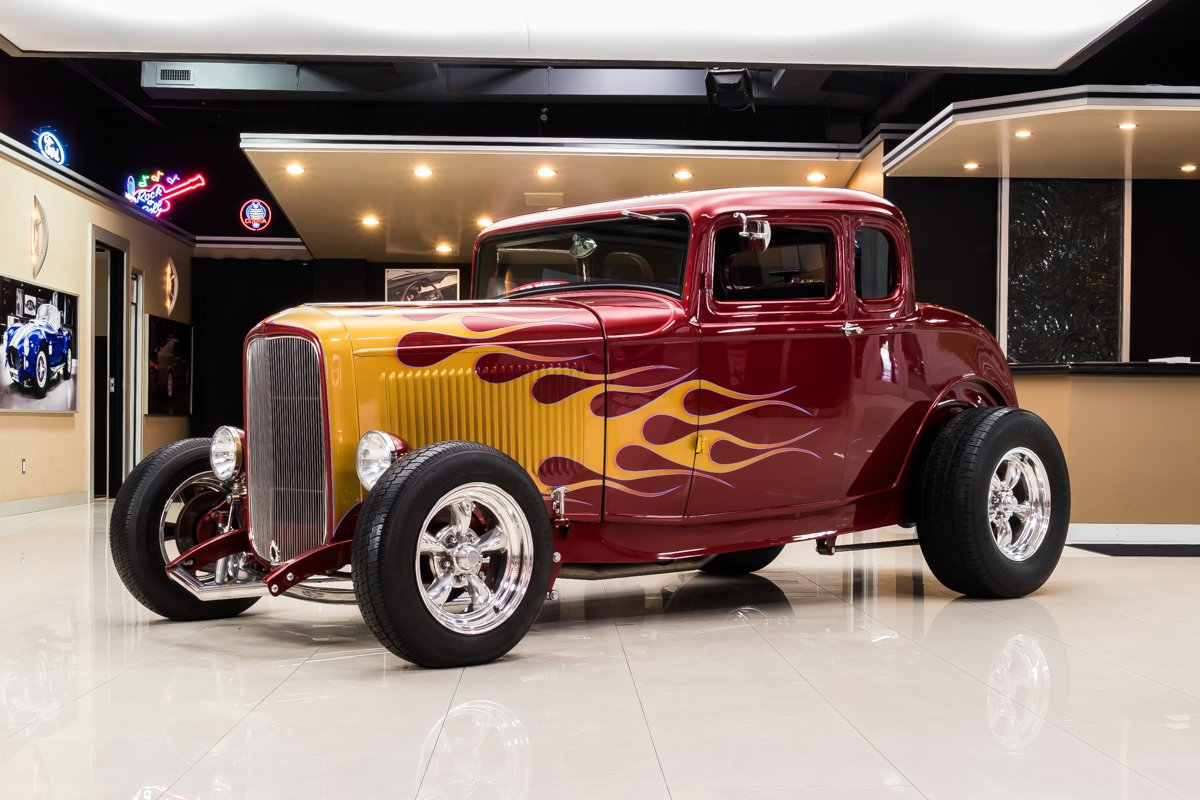 1932 ford 5 window coupe street rod