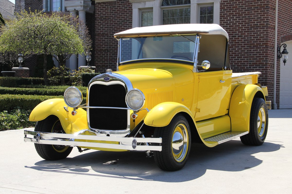 1929 ford model a pickup street rod