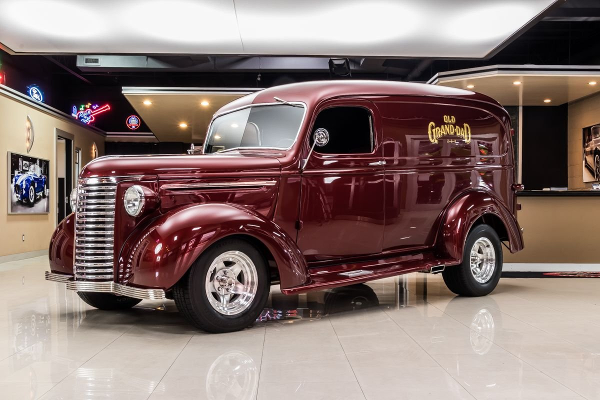 For Sale 1939 Chevrolet Panel Truck