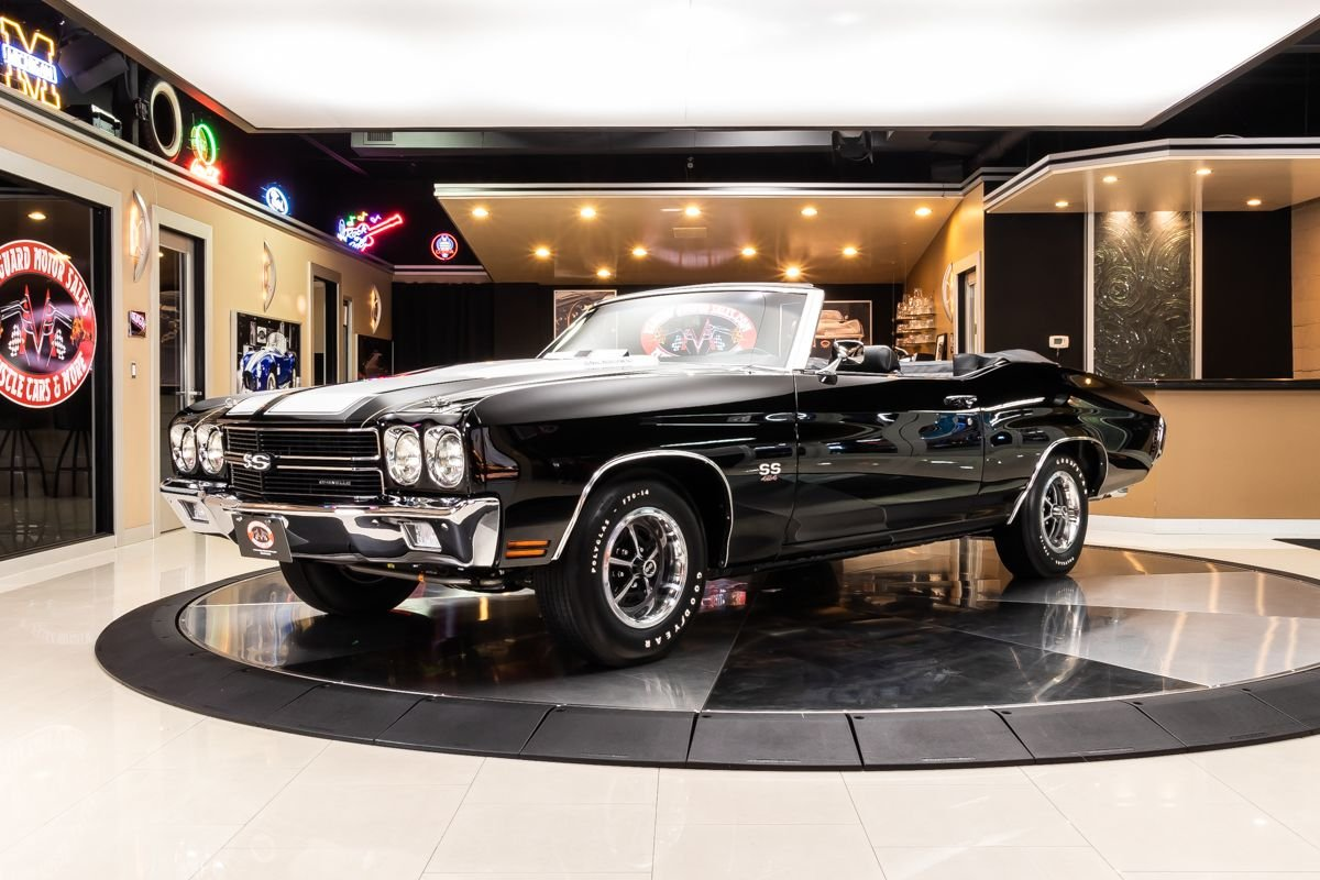 1970 chevrolet chevelle convertible ss 454 ls6 recreation