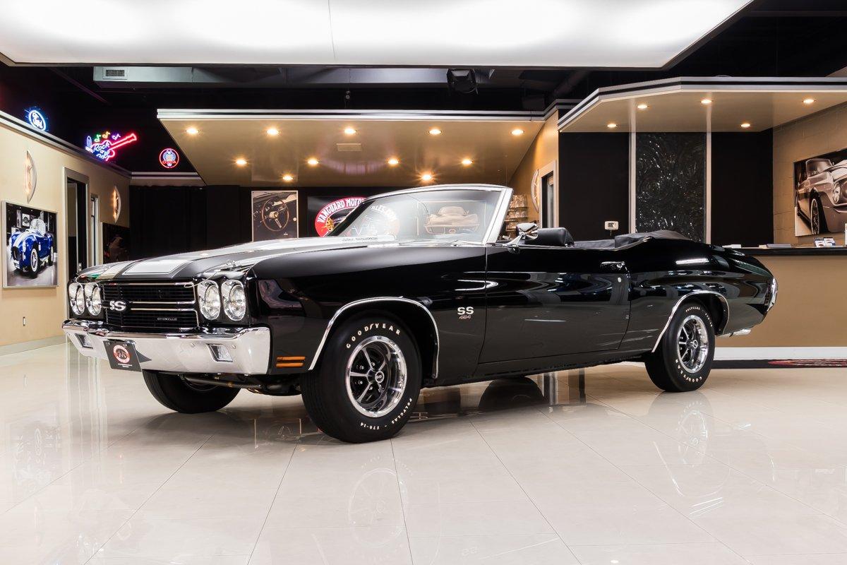 1970 chevrolet chevelle convertible ss 454 ls6 recreation