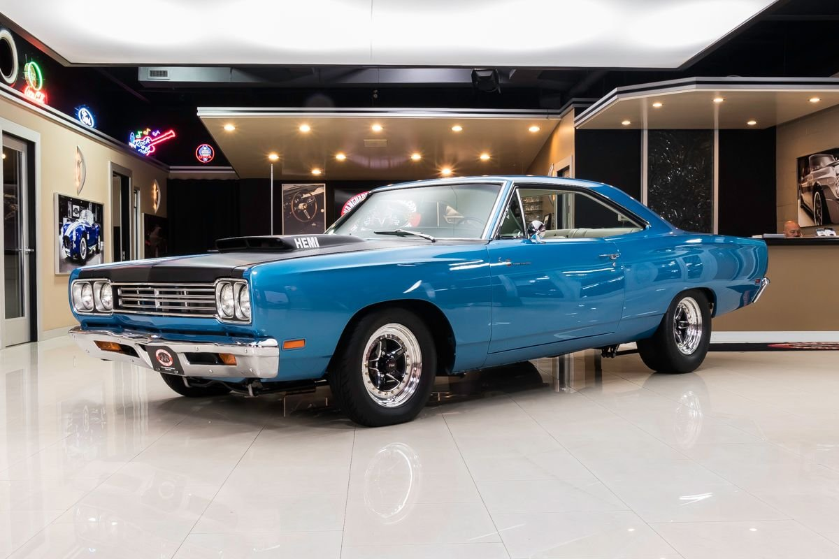 1969 plymouth road runner restomod