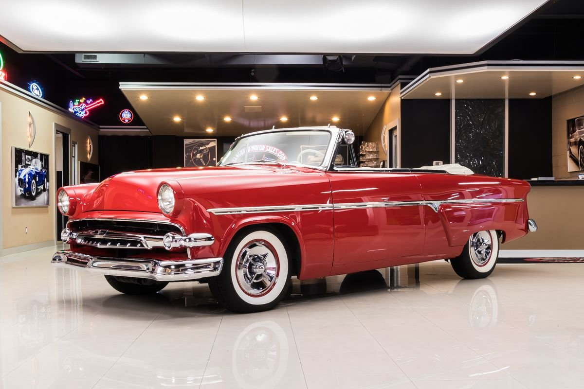 1954 ford sunliner convertible restomod