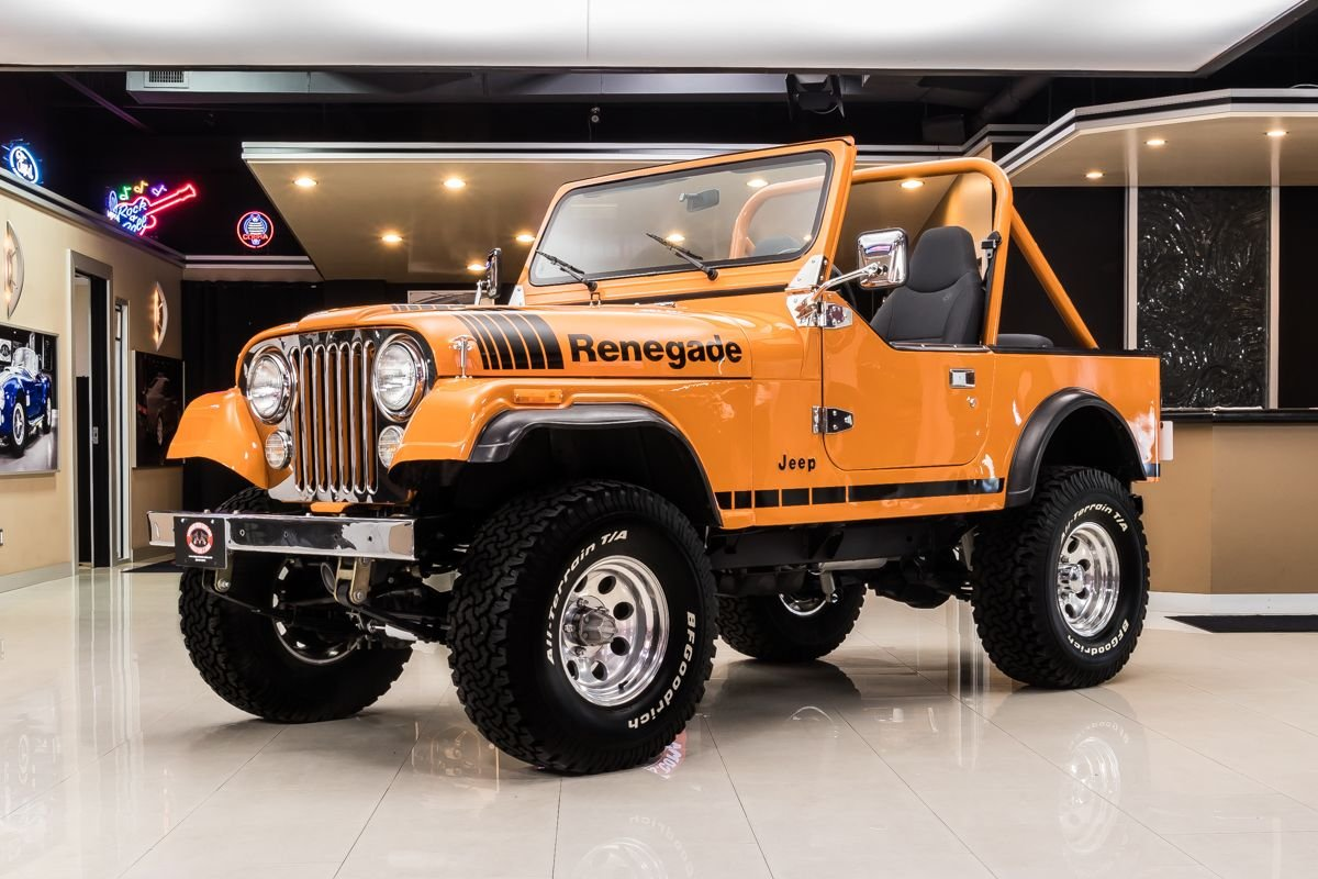 Cj7 Jeep For Sale >> 1977 Jeep Cj7 Classic Cars For Sale Michigan Muscle Old