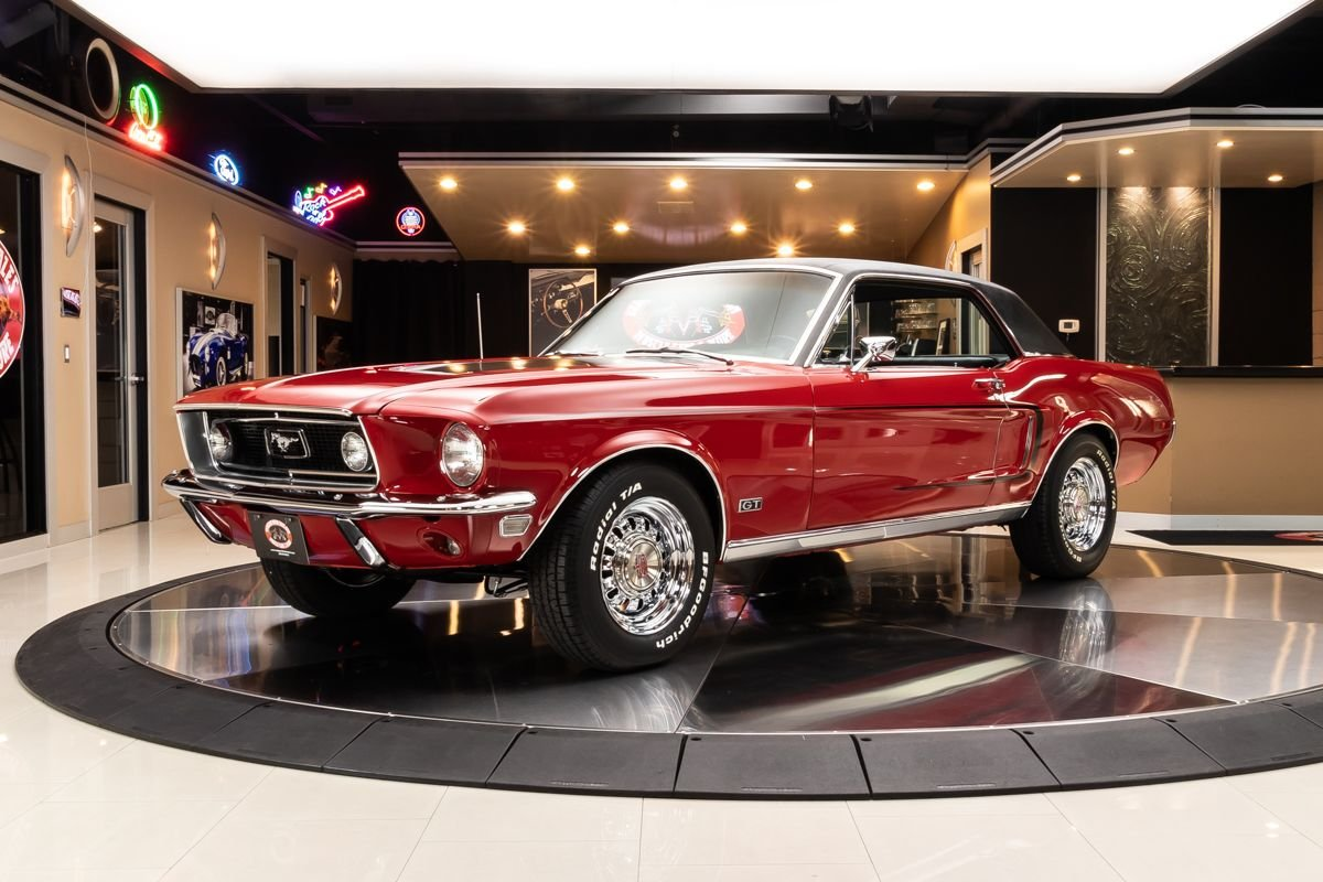 1968 ford mustang s code coupe