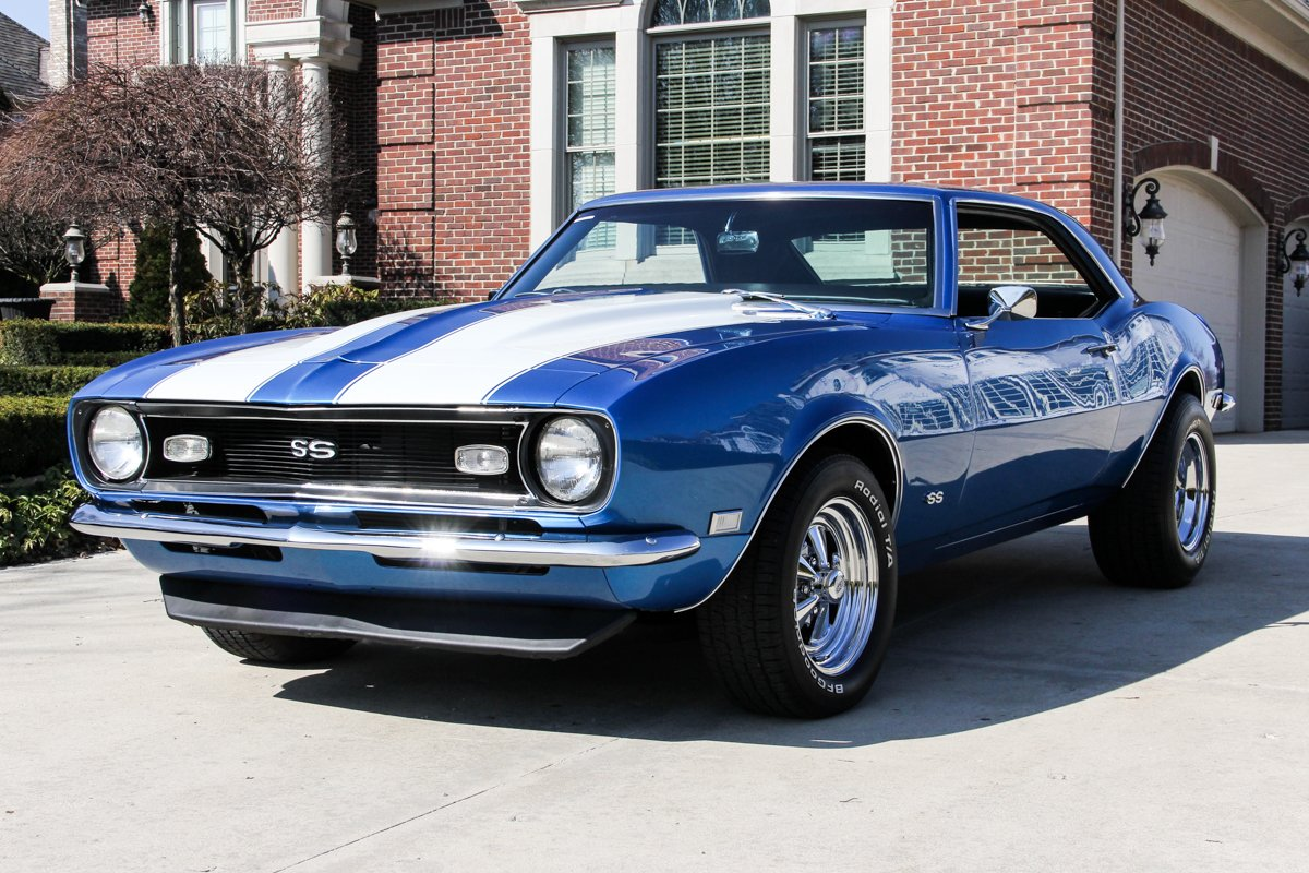 1968 Chevrolet Camaro Classic Cars For Sale Michigan Muscle Old Cars Vanguard Motor Sales