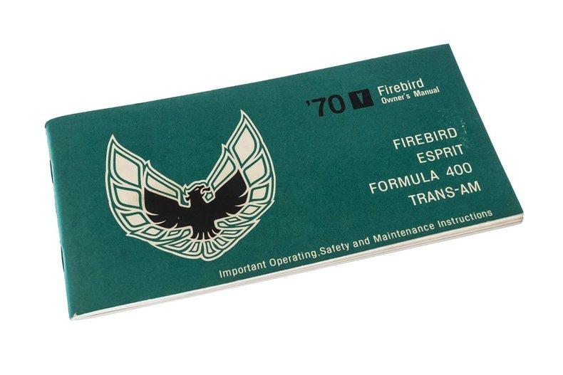 1970 Pontiac Firebird 21