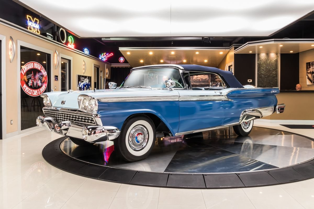 1959 ford galaxie convertible