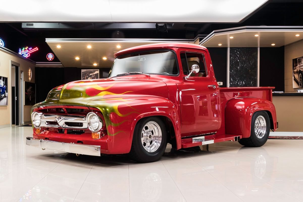 1956 ford f100 pickup restomod