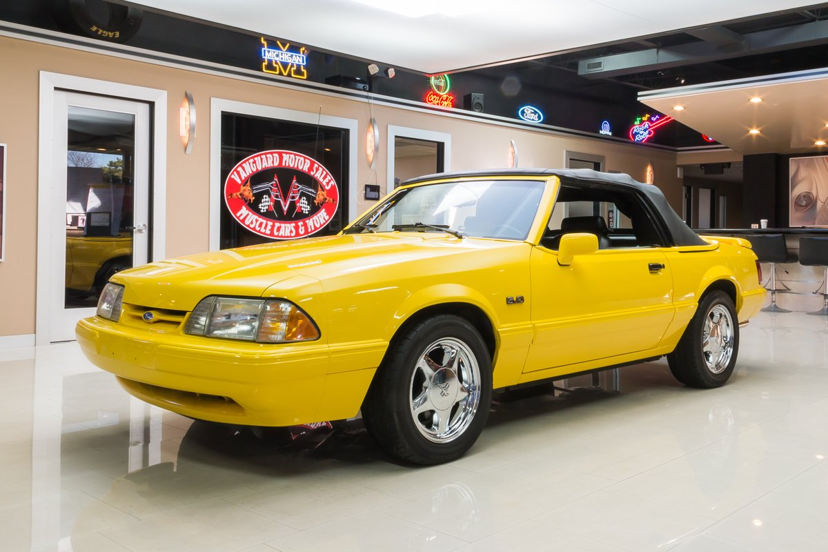 1993 ford mustang lx 5 0 convertible