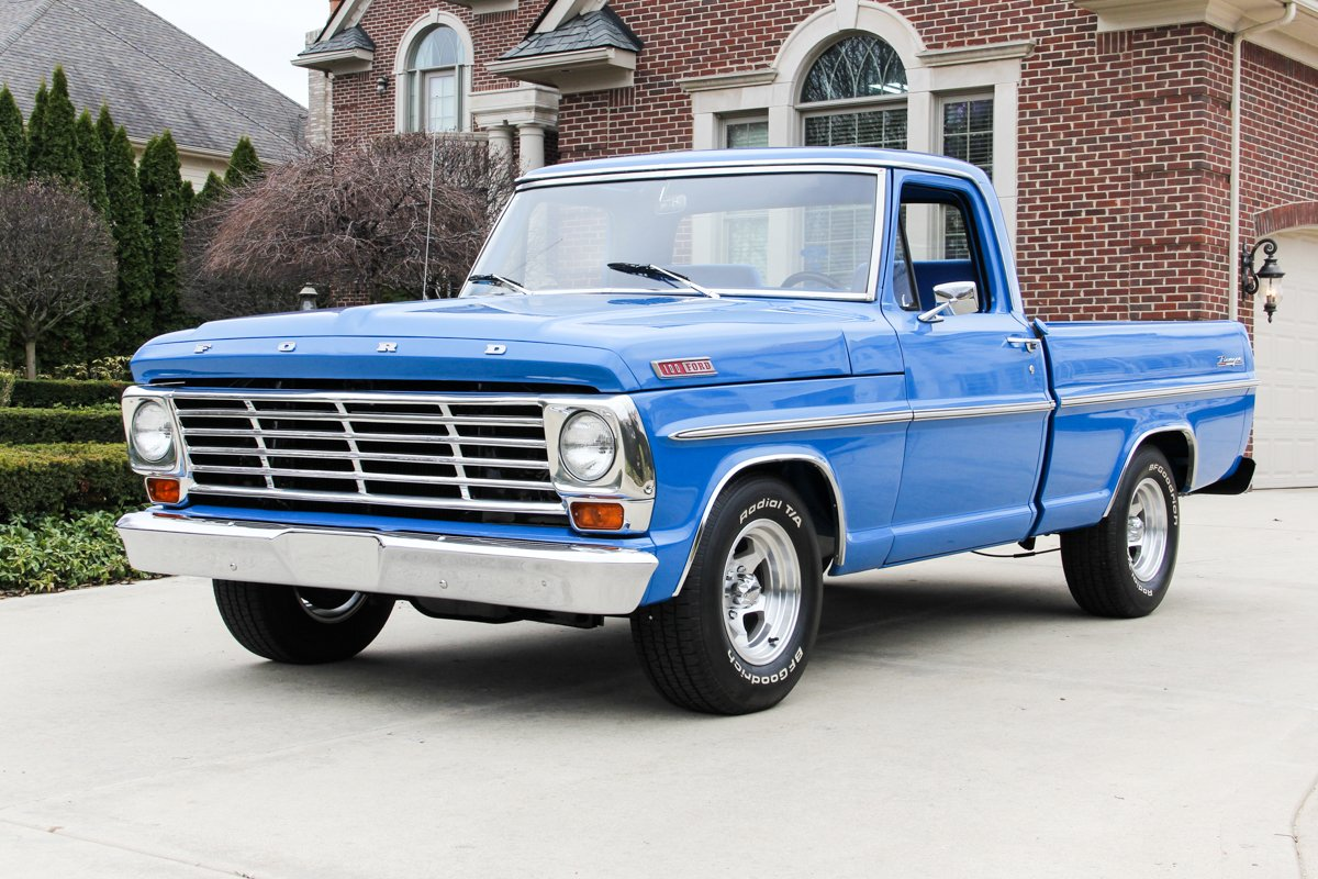 For Sale 1967 Ford F100