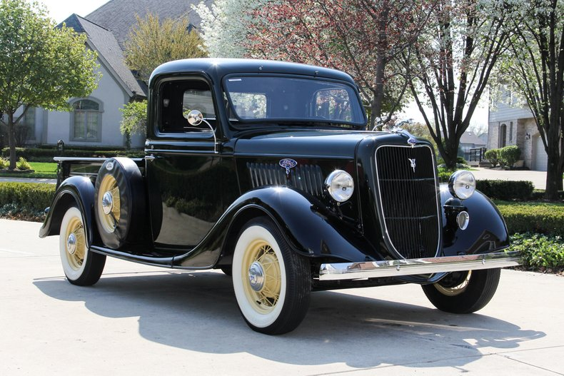 1935 ford pickup classic cars for sale michigan muscle old cars vanguard motor sales. Black Bedroom Furniture Sets. Home Design Ideas