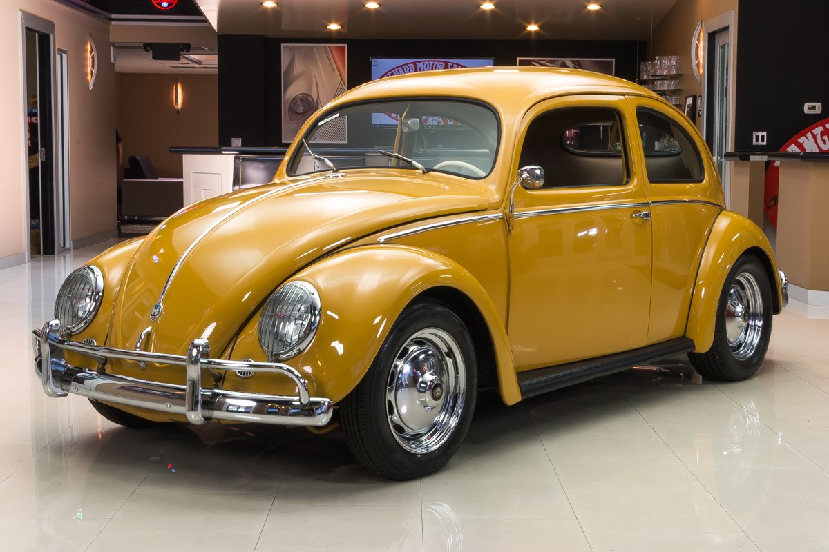 1956 Volkswagen Beetle Classic Cars For Sale Michigan Muscle
