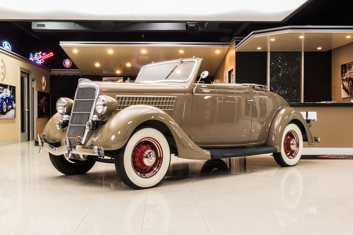 For Sale 1935 Ford Cabriolet