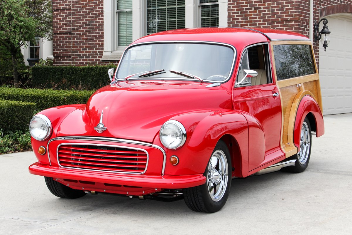 1956 morris minor woody wagon