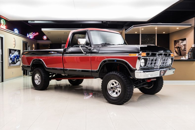 Incredible 1977 Ford F150 Ranger 4X4 Pickup For Sale 181948 Motorious Uwap Interior Chair Design Uwaporg
