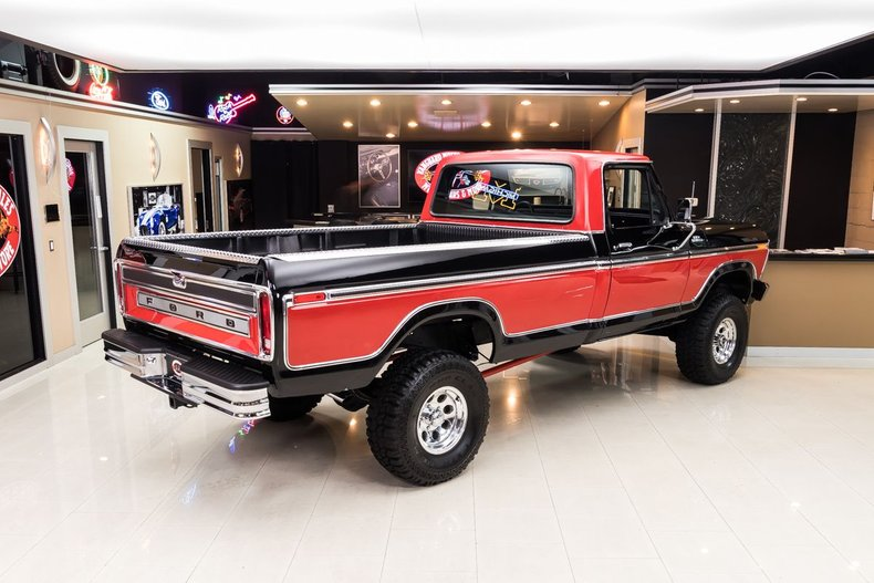 Wondrous 1977 Ford F150 Ranger 4X4 Pickup For Sale 181948 Motorious Uwap Interior Chair Design Uwaporg