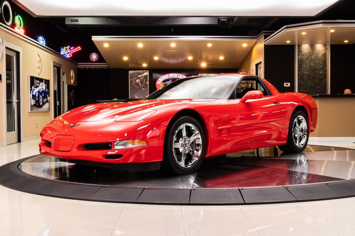 1999 chevrolet corvette fixed roof coupe