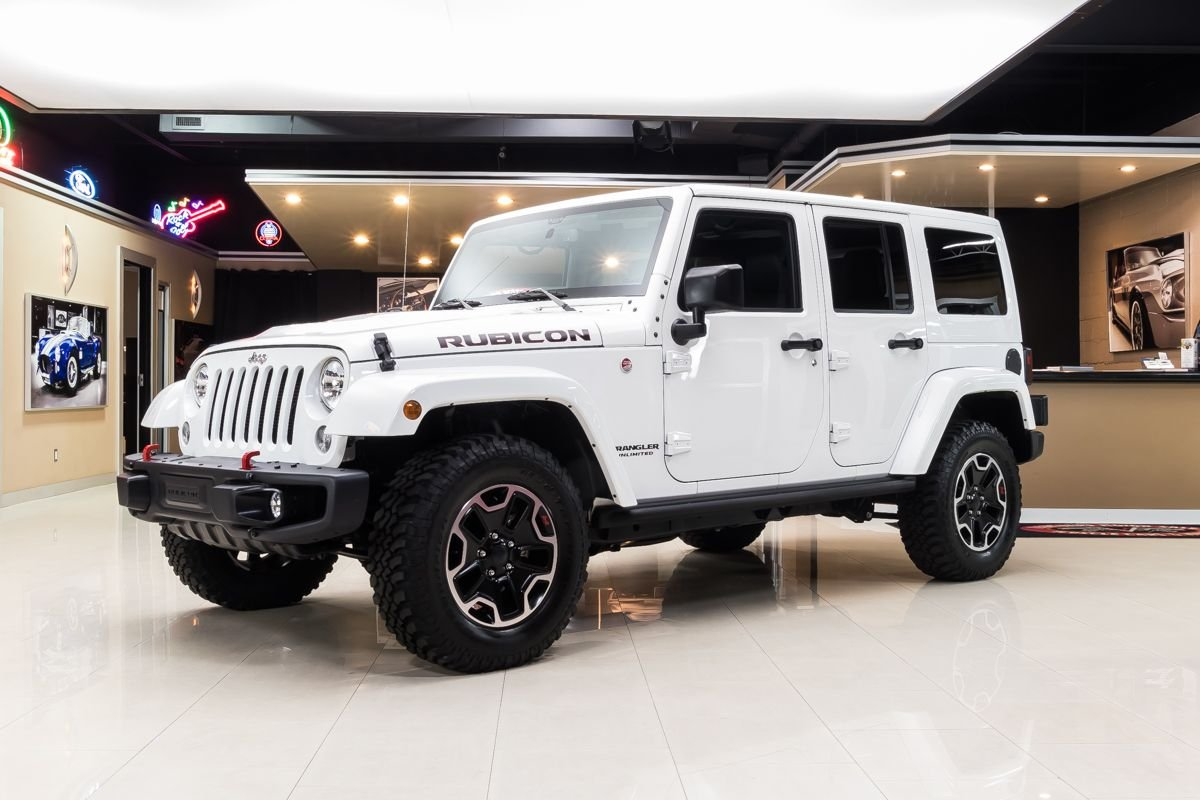 2016 jeep wrangler unlimited rubicon hard rock 4x4