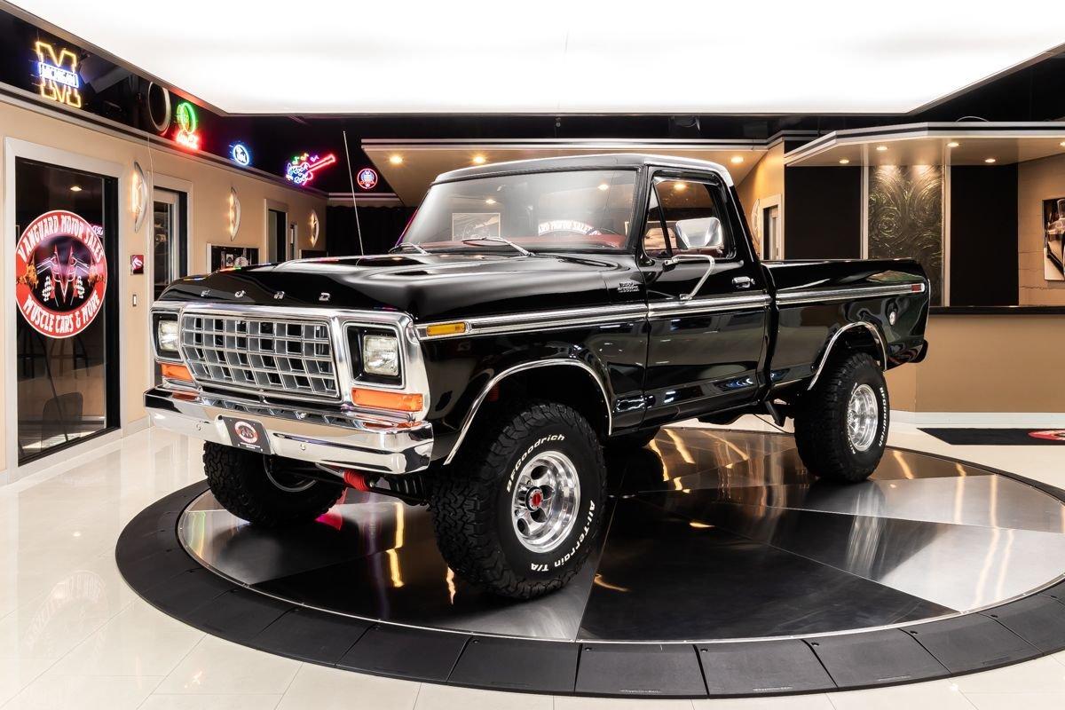 1979 ford f 150 custom pickup 4x4