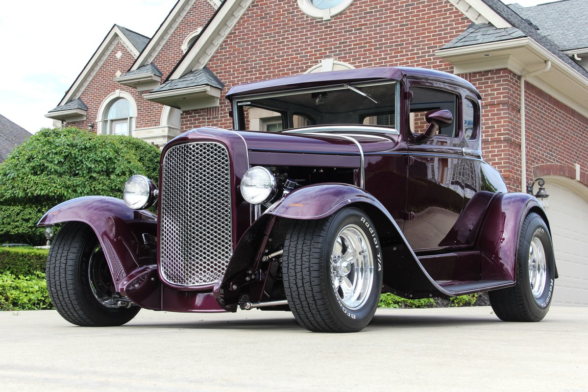 1930 ford 5 window coupe street rod