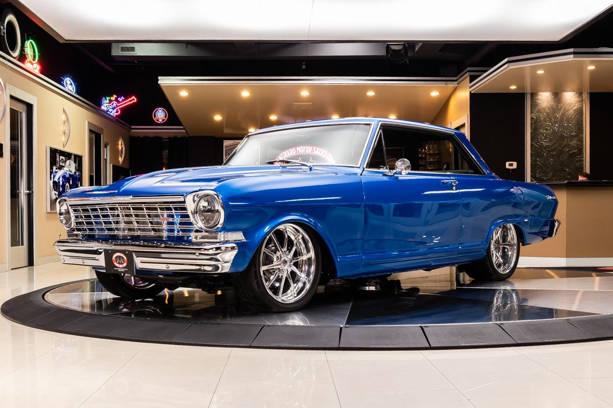 1962 chevrolet nova restomod
