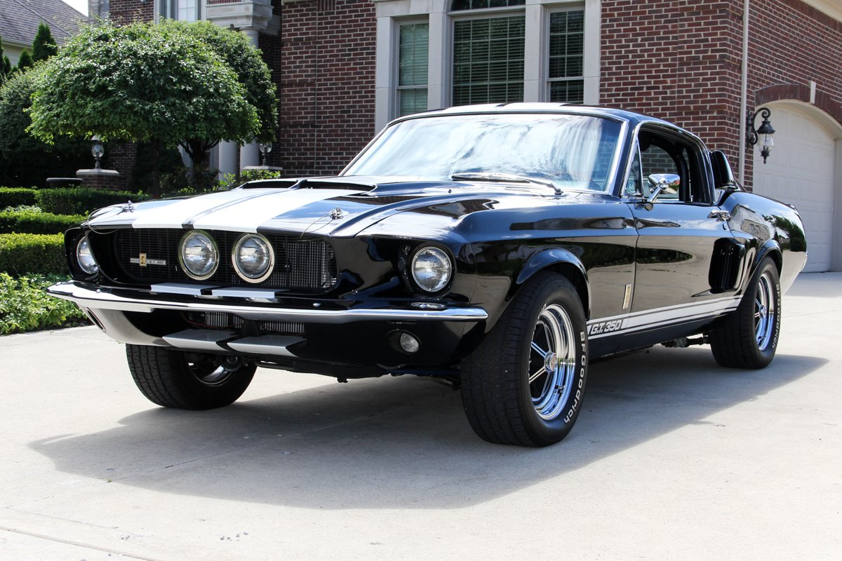 1967 ford mustang fastback gt350 recreation