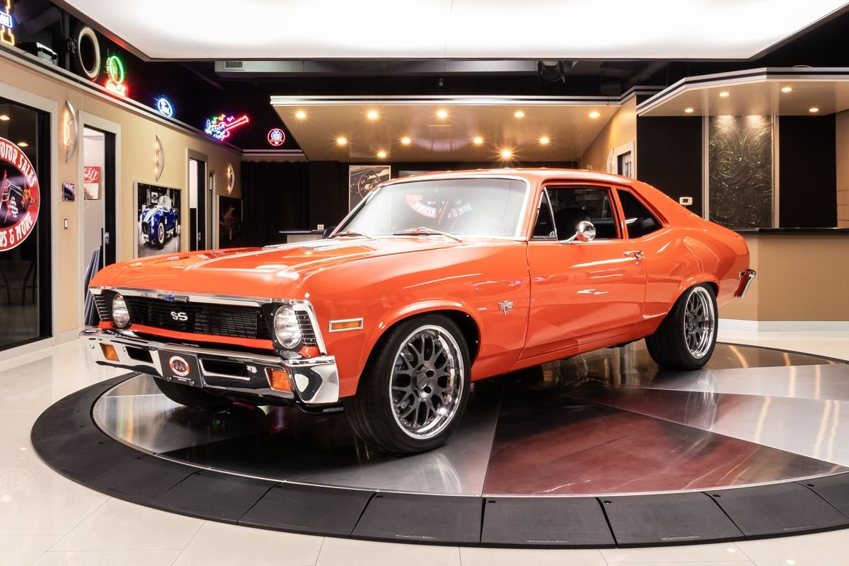 1972 chevrolet nova restomod
