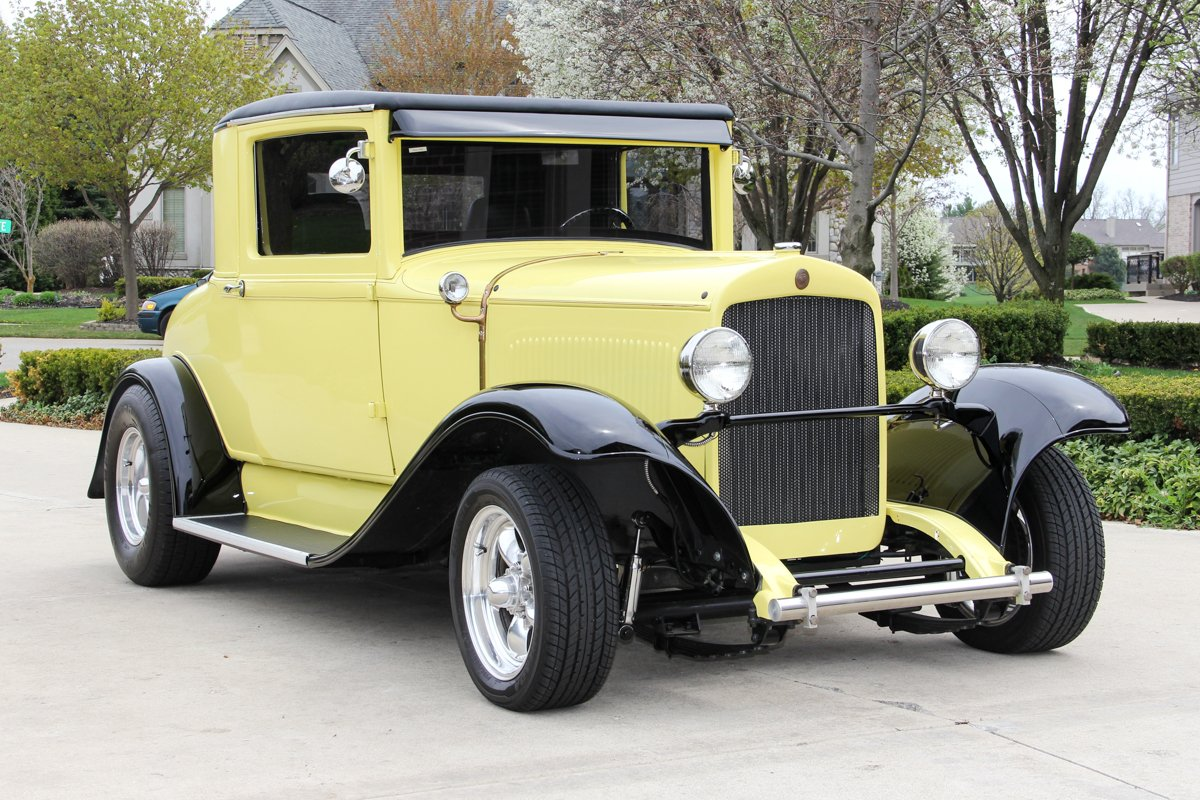 1928 chrysler coupe street rod