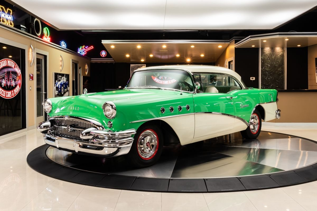 1955 buick century model 66r
