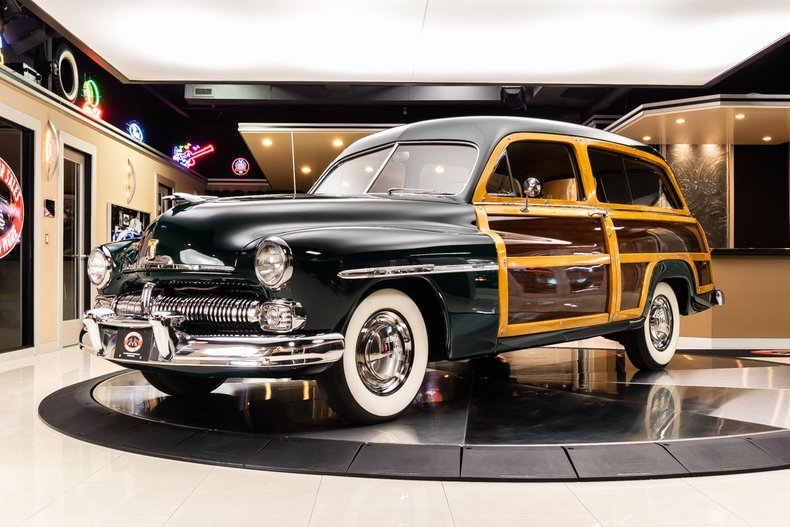 1950 Mercury Woody Wagon 22