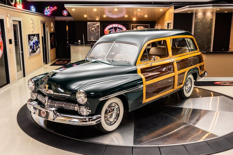 1950 Mercury Woody Wagon 25