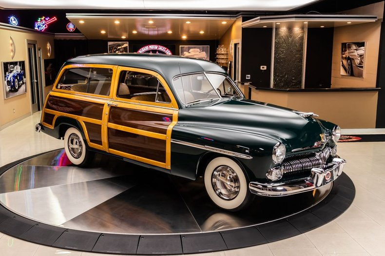 1950 Mercury Woody Wagon 29