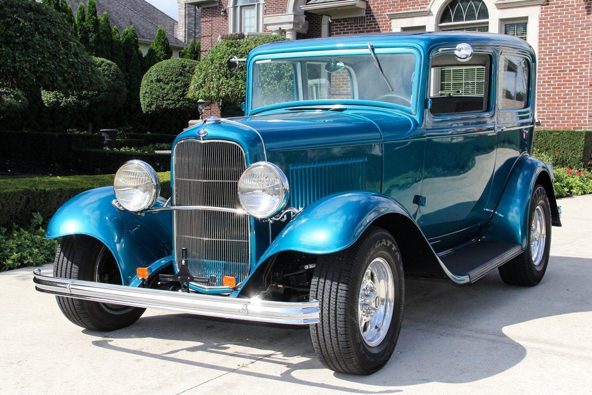 1932 ford tudor sedan street rod