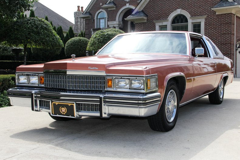 1978 cadillac coupe deville classic cars for sale michigan muscle old cars vanguard motor. Black Bedroom Furniture Sets. Home Design Ideas