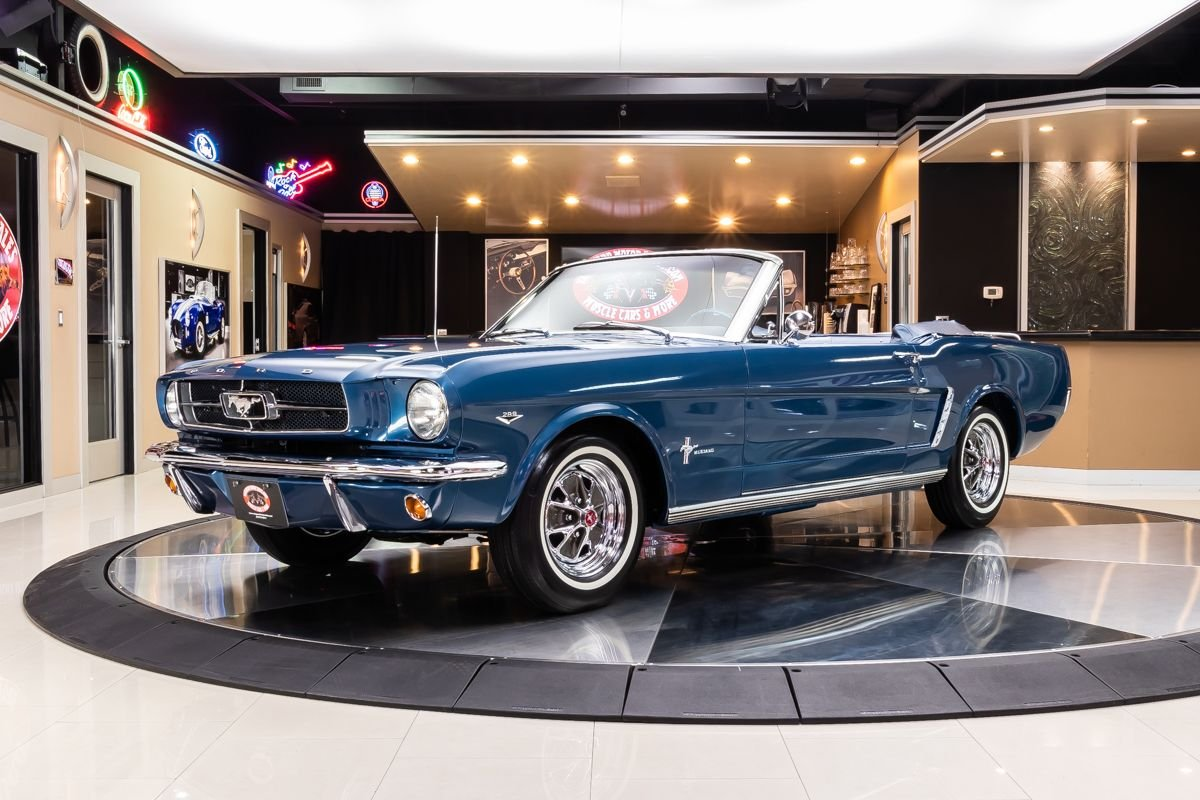 1965 Ford Mustang Classic Cars For Sale Michigan Muscle Old Cars Vanguard Motor Sales