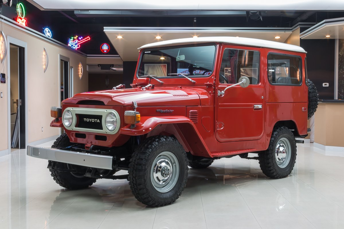 For Sale 1975 Toyota Land Cruiser
